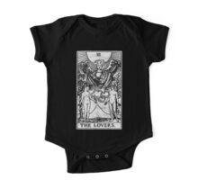 The Lovers Tarot Card - Major Arcana - fortune telling - occult One Piece - Short Sleeve