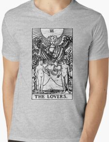 The Lovers Tarot Card - Major Arcana - fortune telling - occult Mens V-Neck T-Shirt