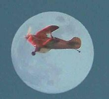 The Red Baron Flies Again by pocahantas