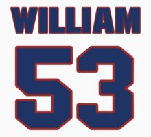 National football player William Compton jersey 53 by imsport