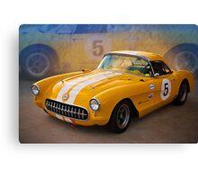 1956 Corvette Front View Canvas Print