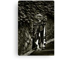 Darth Vader Lands in Gion Canvas Print