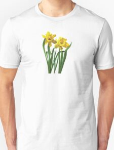 Daffodils At Attention Unisex T-Shirt