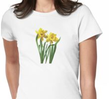 Daffodils At Attention Womens Fitted T-Shirt