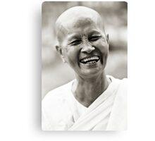 Buddhist Nun Canvas Print