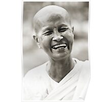 Buddhist Nun Poster