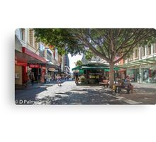 Rundle Mall - Looking East in the Rundle Mall Metal Print
