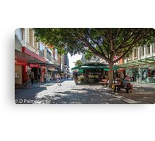 Rundle Mall - Looking East in the Rundle Mall Canvas Print