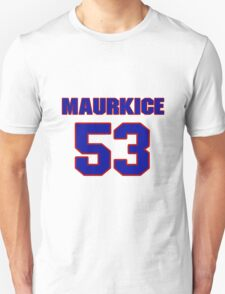 National football player Maurkice Pouncey jersey 53 T-Shirt