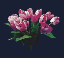 Bunch of Pink Tulips Kids Clothes