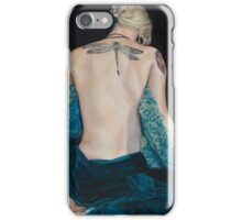 Girl with the Dragonfly Tattoo iPhone Case/Skin