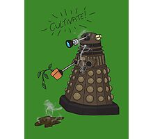 Dalek Retrement - Dr Who's Orders | CULTIVATE Photographic Print