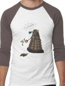 Dalek Retrement - Dr Who's Orders | CULTIVATE Men's Baseball ¾ T-Shirt