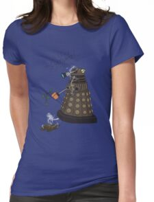 Dalek Retrement - Dr Who's Orders | CULTIVATE Womens Fitted T-Shirt