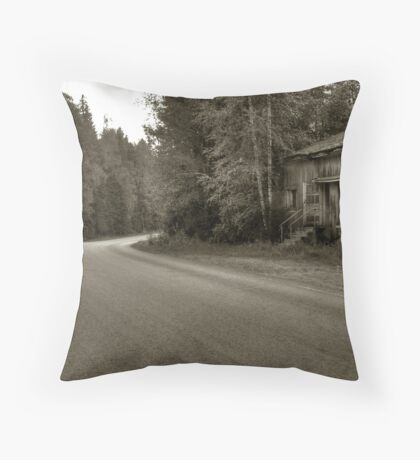 Heart of the village, cold already Throw Pillow