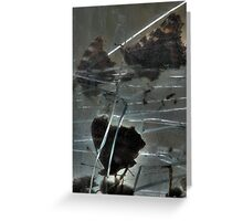 Glass Grave Greeting Card