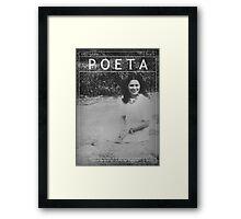 Poeta: Julia de Burgos Framed Print