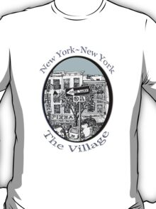 NYC-Name this lower Manhattan intersection? T-Shirt