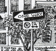 NYC-Name this lower Manhattan intersection? Sticker