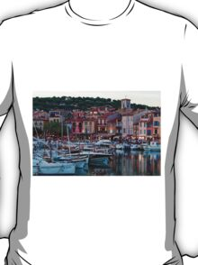 Cassis, French Riviera, in the Summer at Dusk T-Shirt