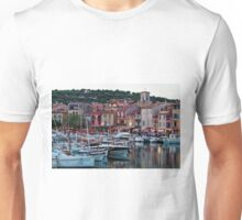 Cassis, French Riviera, in the Summer at Dusk Unisex T-Shirt
