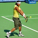 Backhand (Rafael Nadal) by andreisky