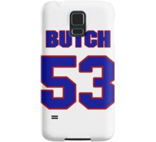 National football player Butch Maples jersey 53 Samsung Galaxy Case/Skin