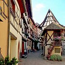 Eguisheim - Alsace - France by Arie Koene
