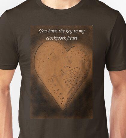Clockwork Valentine Unisex T-Shirt