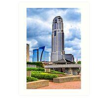 Urbania - Peachtree Street in Atlanta Art Print