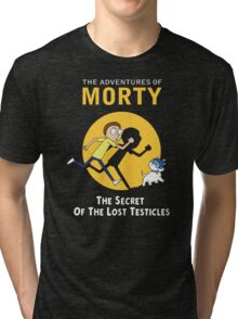 The Secret of the Lost Testicles Tri-blend T-Shirt
