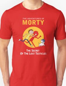 The Secret of the Lost Testicles Unisex T-Shirt