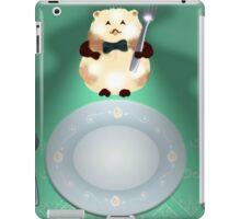 dinner time hamster iPad Case/Skin