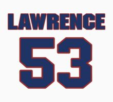 National football player Lawrence Wilson jersey 53 by imsport