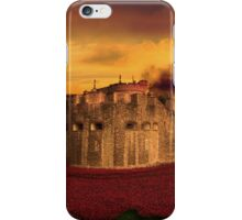 Poppies Tower of London  iPhone Case/Skin