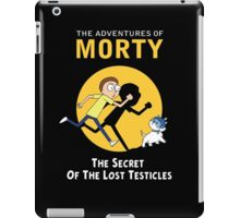 The Secret of the Lost Testicles iPad Case/Skin