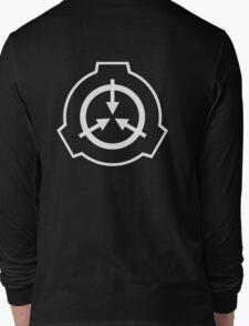 SCP Zipper Hoodie (Black) Long Sleeve T-Shirt