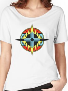 New Mexico Compass Women's Relaxed Fit T-Shirt