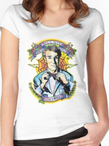 Bill Nye the Science Guy Women's Fitted Scoop T-Shirt