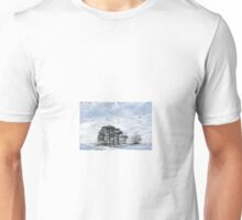 Trees in Winter Time Unisex T-Shirt