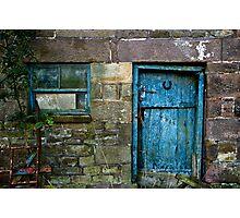 Rural Door Photographic Print