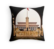 Tiananmen Square Throw Pillow