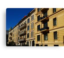 Balcony Galore Canvas Print