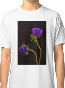Glowing purple anemones Classic T-Shirt