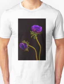 Glowing purple anemones T-Shirt