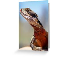 Male Water Dragon Greeting Card