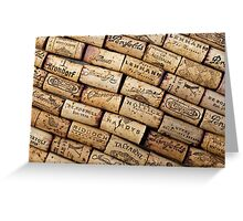 Wine Corks 1 Greeting Card