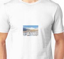 Snowy Tracks to Pen Y Fan Unisex T-Shirt