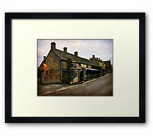 The Hollow Bottom. Framed Print
