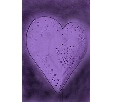 Purple Heart Photographic Print